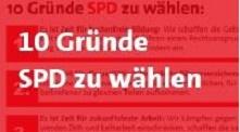 10 Gründe SPD zu wählen